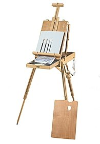 Rivera Sketch Box Easel and Painting Kits oil kit